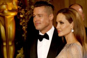 Сюрприз: Анджелина Джоли и Брэд Питт примирились