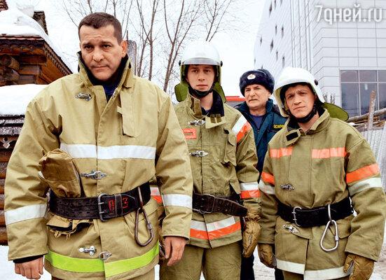 Чтобы стать пожарным на экране, Бойко прошел курс молодого спасателя в реальности