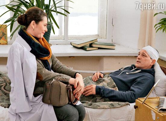 У героя Ярослава Бойко есть невеста — ее сыграла Янина Соколовская