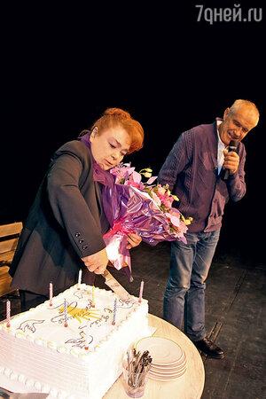 Нина Дорошина и Сергей Гармаш