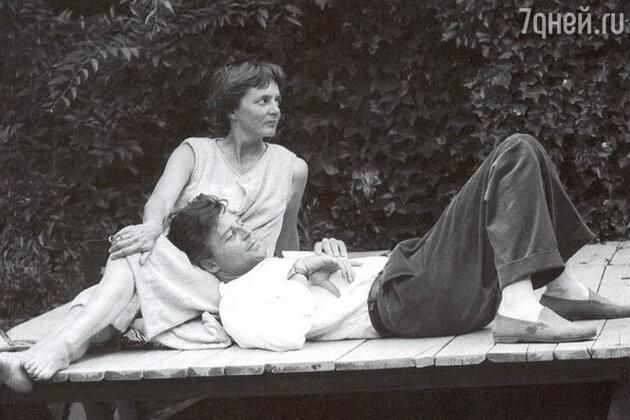 Жерар Филип с женой