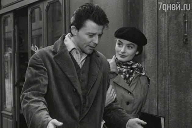 Жерар Филип и Анук Эме в фильме «Монпарнас, 19». 1958 г.