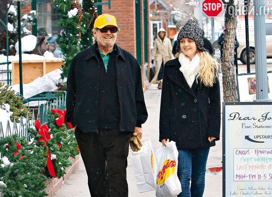 Джек Николсон с дочерью Лоррейн