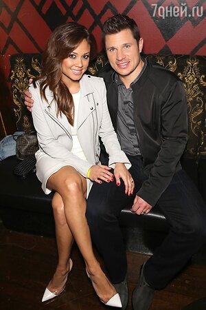 Ник Лаше с женой Ванессой