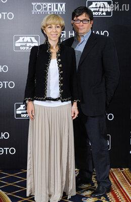 Марианна Максимовская с мужем Василием Борисовым