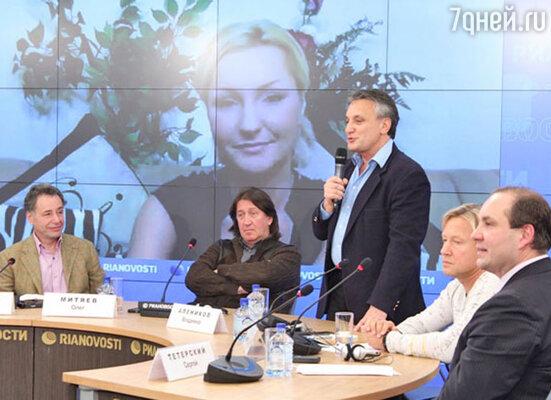 Анатолий Мелихов, Олег Митяев, Владимир Алеников, Дмитрий Харатьян, Сергей Тетерский