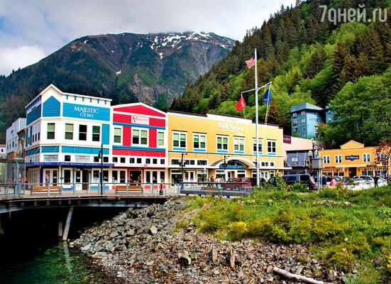 Так выглядит гостиничный квартал встолице Аляски Джуно