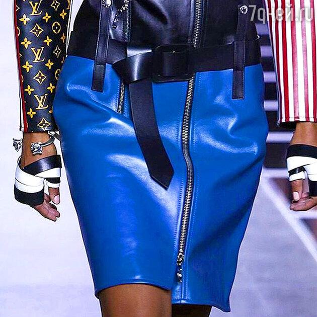 На показе Louis Vuitton