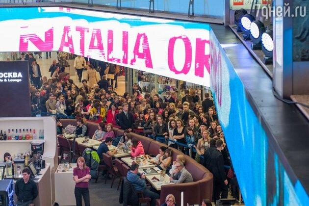 18 апреля в ТЦ «Европейский» состоялась открытая встреча поклонников с Наталией Орейро