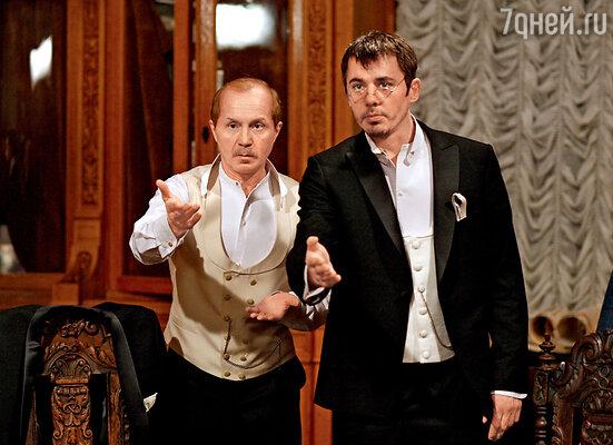 Андрей Панин и Игорь Петренко — новое воплощение доктора Ватсона иШерлока Холмса