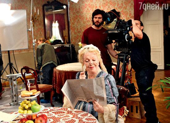 Ольга Волкова украсит своим присутствием одну из киноновелл в«Шерлоке Холмсе»