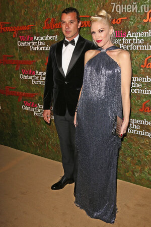 Гвен Стефани с мужем Гэвином Россдейлом