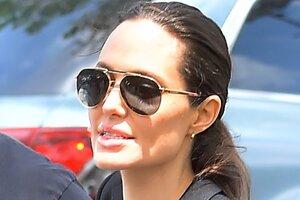 В Сети появилось эксклюзивное видео с Анджелиной Джоли