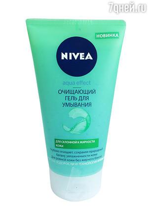 Очищающий гель для умывания Aqua effect от Nivea