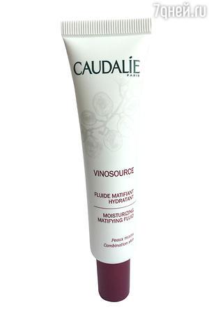 Матирующий увлажняющий флюид Vinosource от Caudalie
