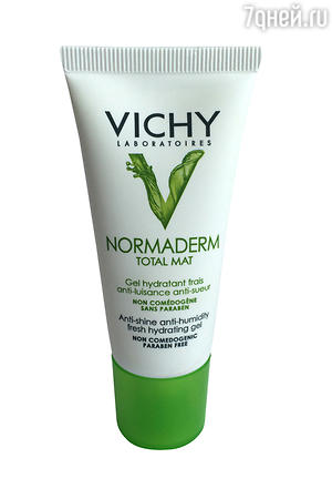 ������ ����������� ���� � �������� ��������� Normaderm Total Mat �� Vichy