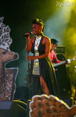 Выступление британской певицы Скай Эдвардз из группы «Morcheeba»