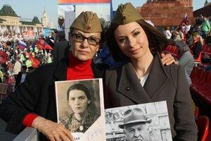 Светлана Тома и Ирина Лачина приняли участие в акции «Бессмертный полк»