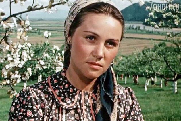 Татьяна Конюхова в фильме «Над Тиссой», 1958 год