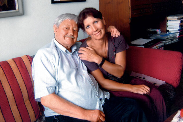 Донатас Банионис и Ольга Рябикова
