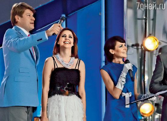 ...и с Ольгой Шелест на «Евровидении»