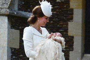Состоялось крещение принцессы Шарлотты: детали и фото