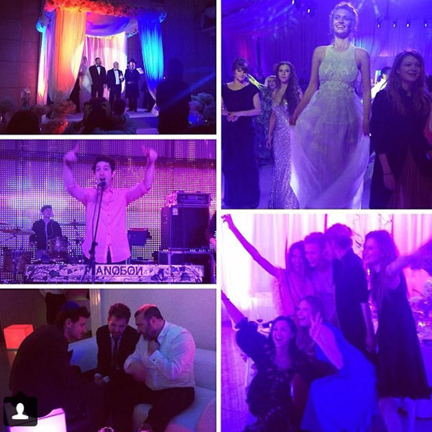 Свадьба проходила в родном городе Кипермана Днепропетровске, в крупном еврейском центре «Менора»