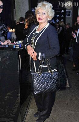 Политический деятель Людмила Нарусова