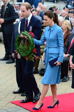 Кейт Миддлтон и принц Уильям в Новой Зеландии