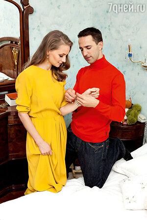 Екатерина Вилкова с мужем Ильей Любимовым