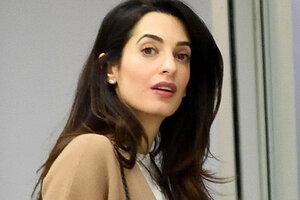 Худоба беременной Амаль Клуни пугает ее подруг