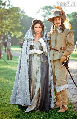 Анна Австрийская с царственным супругом Людовиком XIII (Филипп Янковский)
