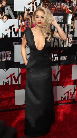 Рита Ора на вручении премии MTV Movie Awards-2014