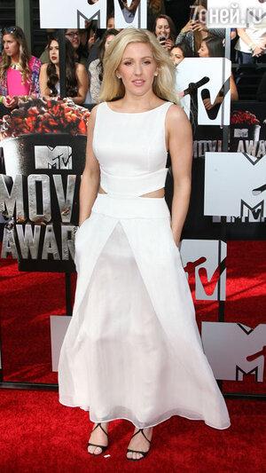 Элли Голдинг на вручении премии MTV Movie Awards-2014