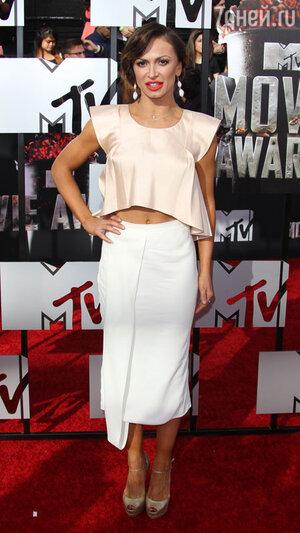 Карина Смирнофф на вручении премии MTV Movie Awards-2014