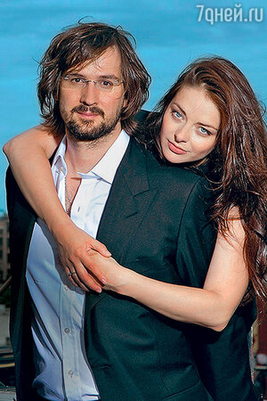 Марина Александрова с мужем