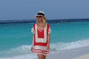 ВИДЕО: Яна Рудковская устроила себе райские каникулы на Мальдивах