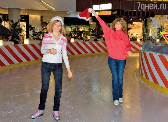 Бирюкова показала класс на катке, сказывается опыт участия в ледовом телешоу