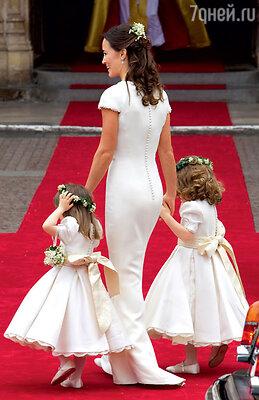Фигура мисс Миддлтон в платье подружки невесты произвела такое впечатление, чтотысячи женщин начали требовать от пластических хирургов сделать имтакую же