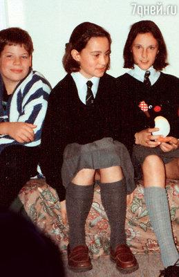 В школе Сент-Эндрюс Пиппу запомнили как очень общительную девочку и превосходную спортсменку. 1996 г.