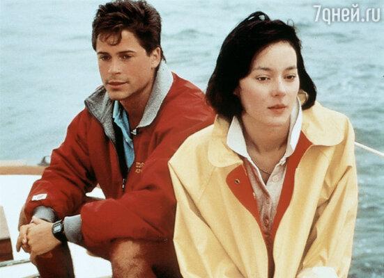 Роман с Мэг Тилли чуть было не стоил Колину актерской карьеры. Кадр фильма «Маскарад» с Мэг Тилли, 1988 г.