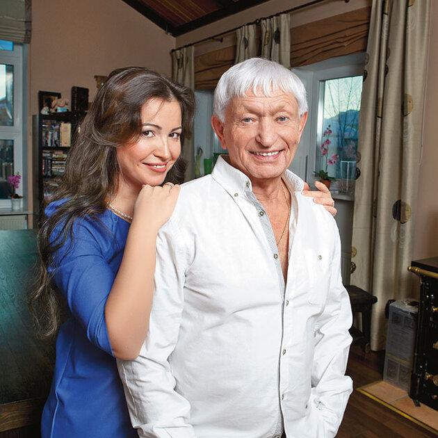 Николай Агутин с женой Аллой