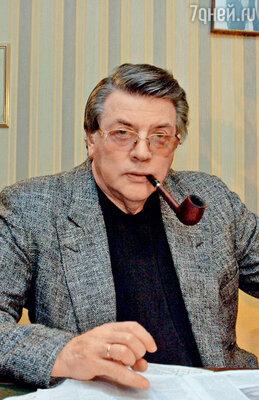 В коллекции Александра Ширвиндта более 200 трубок