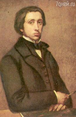 Эдгару надоели занятия правом. Он предпочитал пропадать в Лувре, копируя картины любимых художников
