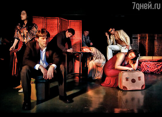 Студенты нашей актерской школы в Бильбао