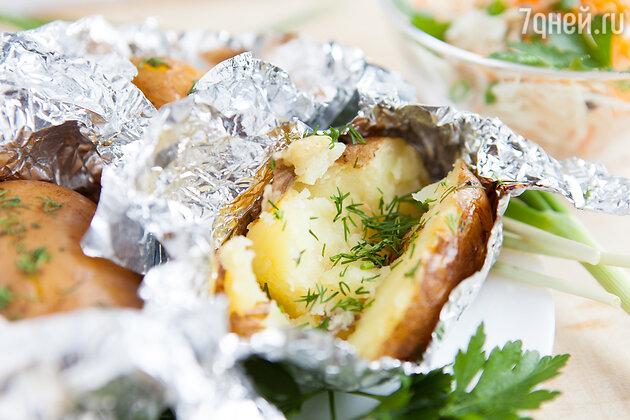 Печеная картошка в фольге от Екатерины Климовой