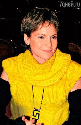 Людмила Артемьева на пресс-конференции. 2006 г.