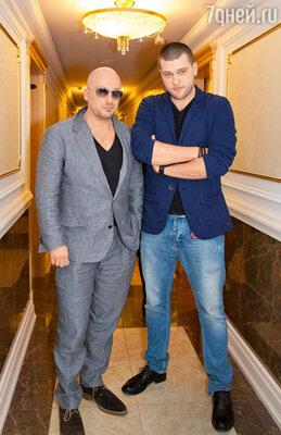 Дмитрий Нагиев  с сыном Кириллом. «Золотой граммофон». 2012 од.