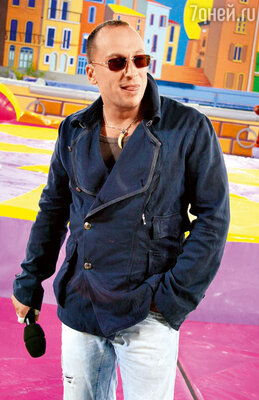 Дмитрий Нагиев  на шоу  «Большие гонки». 2008 год