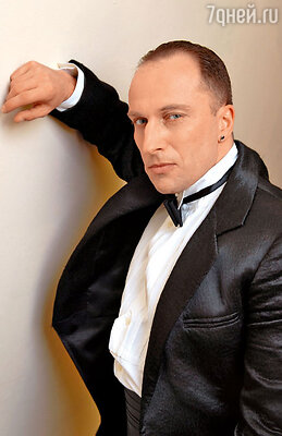Дмитрий Нагиев на съемках новогодней программы Первого канала. 2006 год
